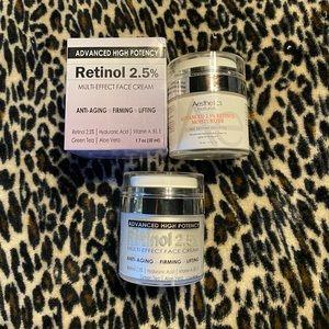 Retinol multi effect face cream bundle